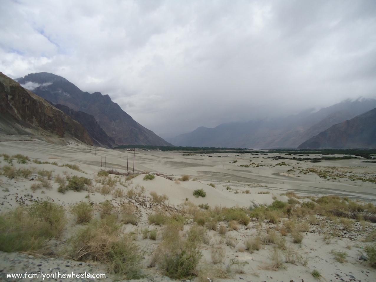 Diskit Monastery, leh View