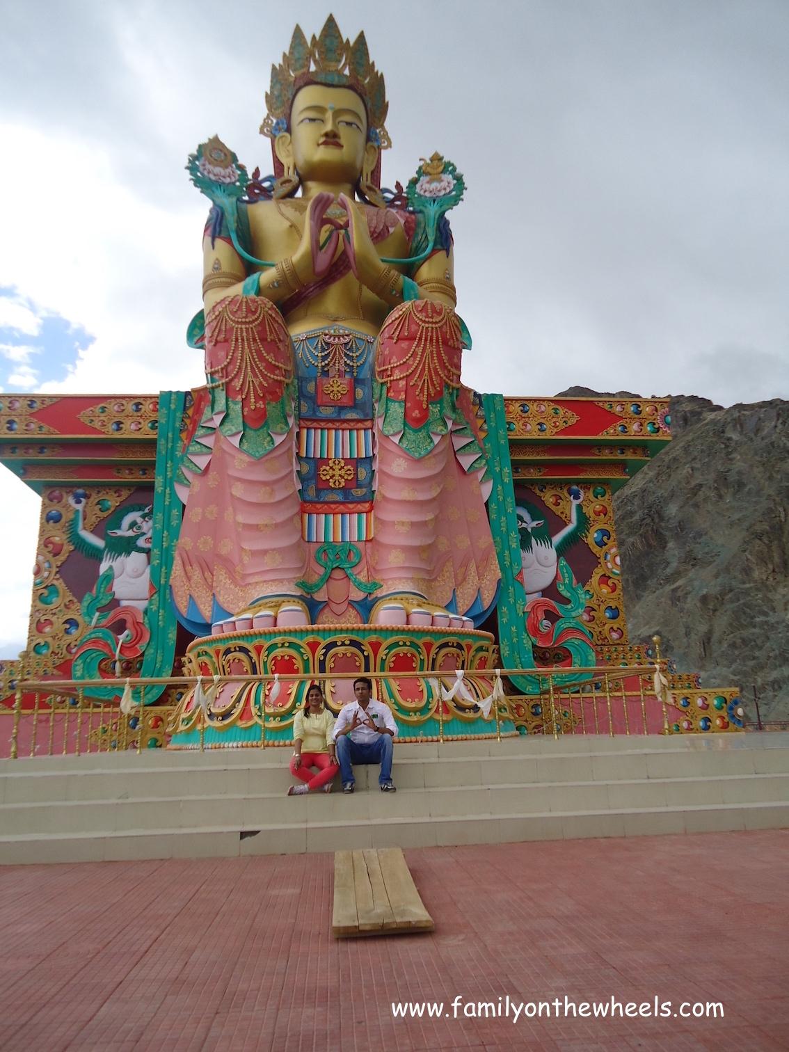 Buddha Statue, leh View